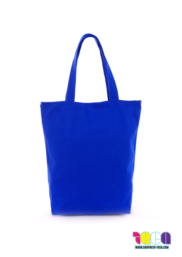 Wholesale canvas bags. 16oz Premium Tote Royal Main