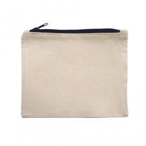 A5 canvas zipper pouch printing