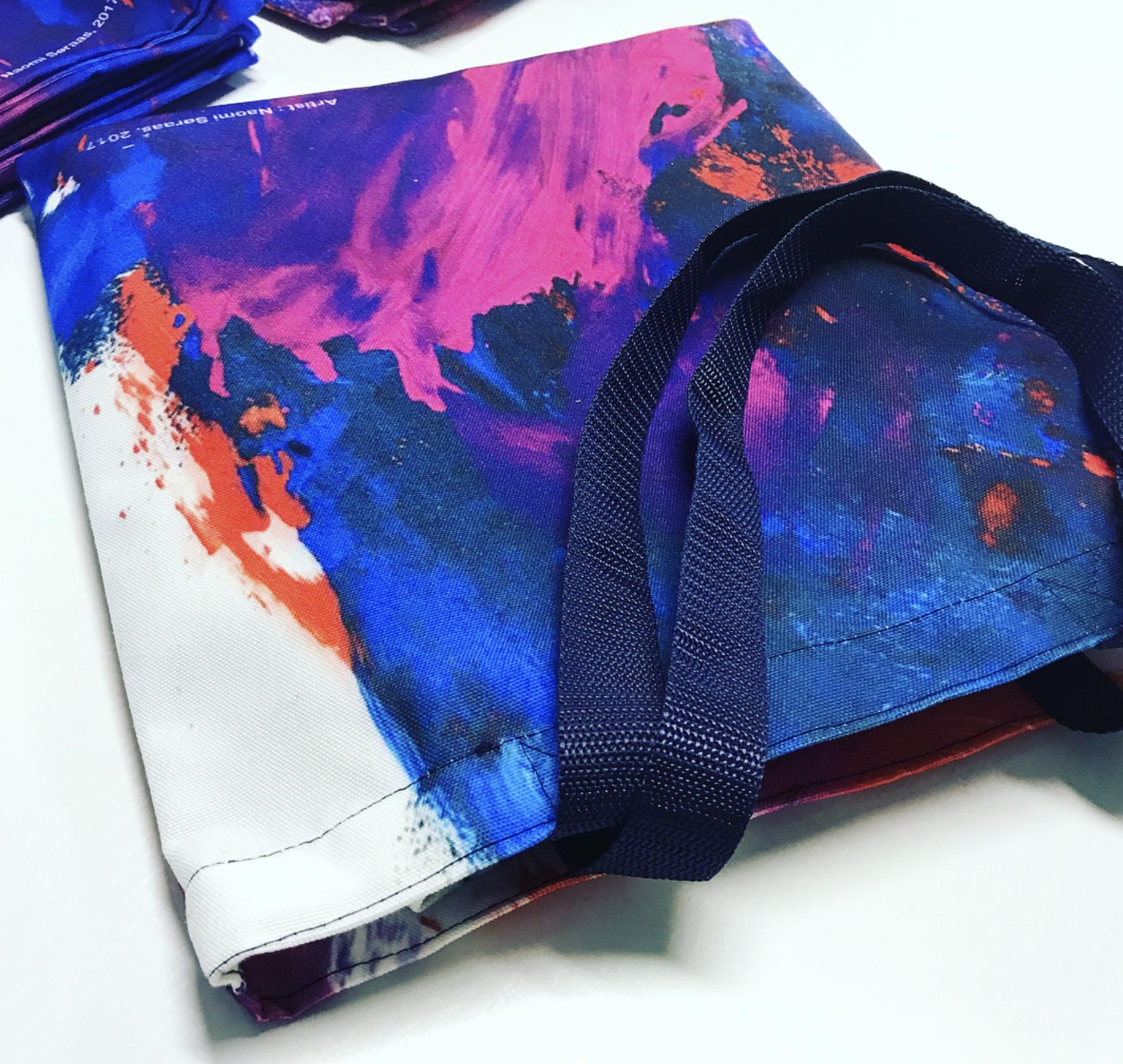 Full tote bag printing