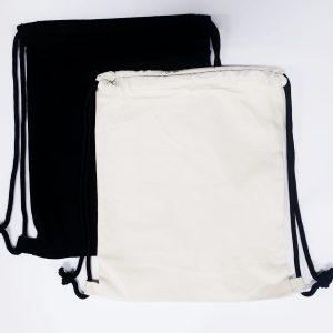 Custom Canvas Drawstring Backpacks
