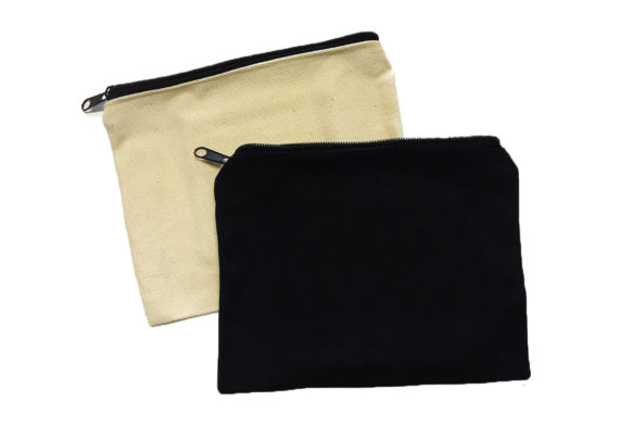 custom zip pouch