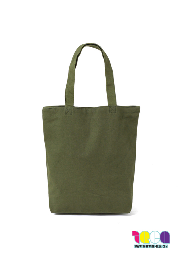 1e0b8823ecd Cotton Bag, Canvas Bag, Army Green Premium Canvas Bag Supply SG