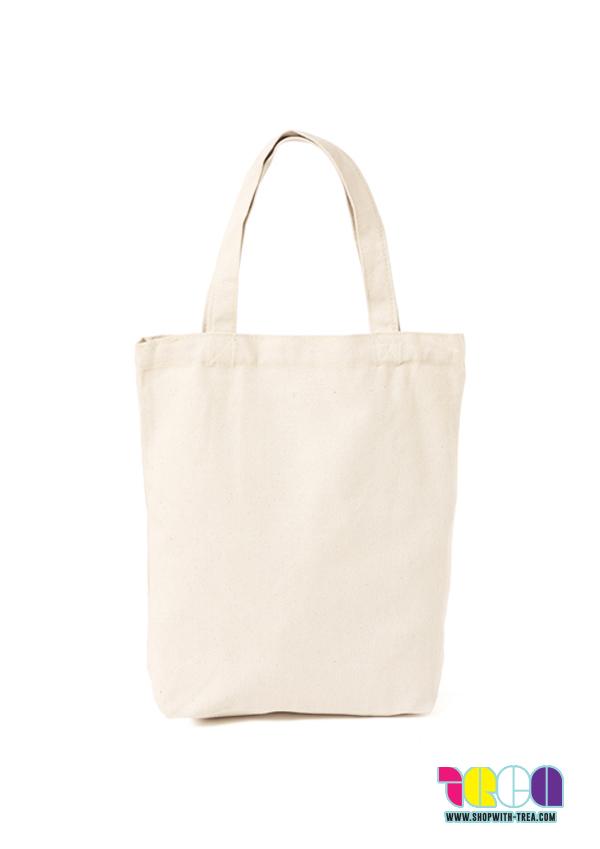 Premium cream canvas bag printing