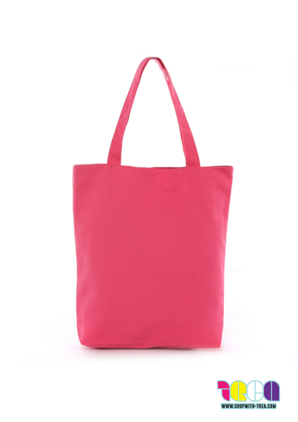 37f4a67f6d Premium Canvas Tote – Pink