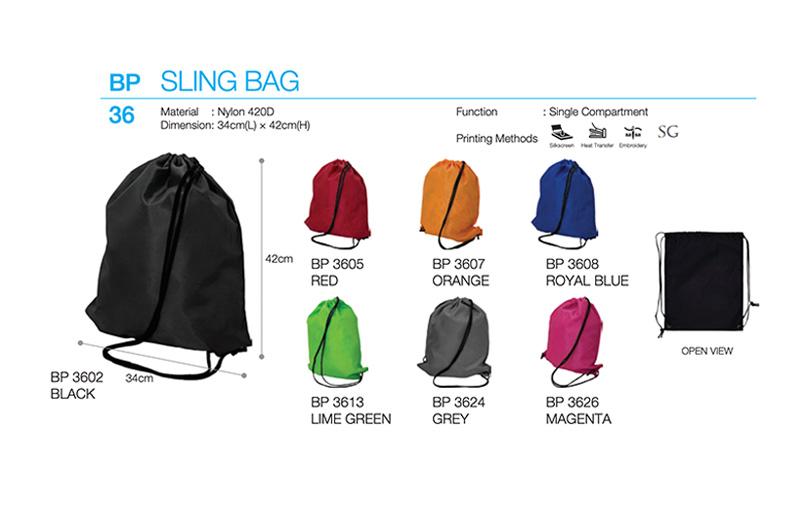 Custom Polyester Drawstring Bag