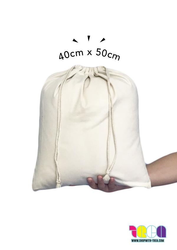 custom large drawstring bag