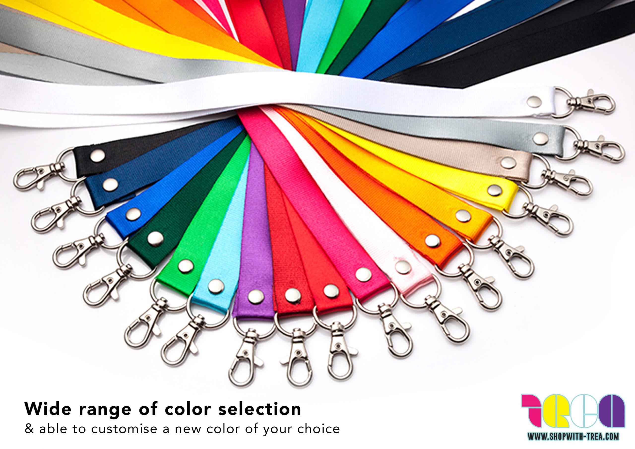 Lanyard colours