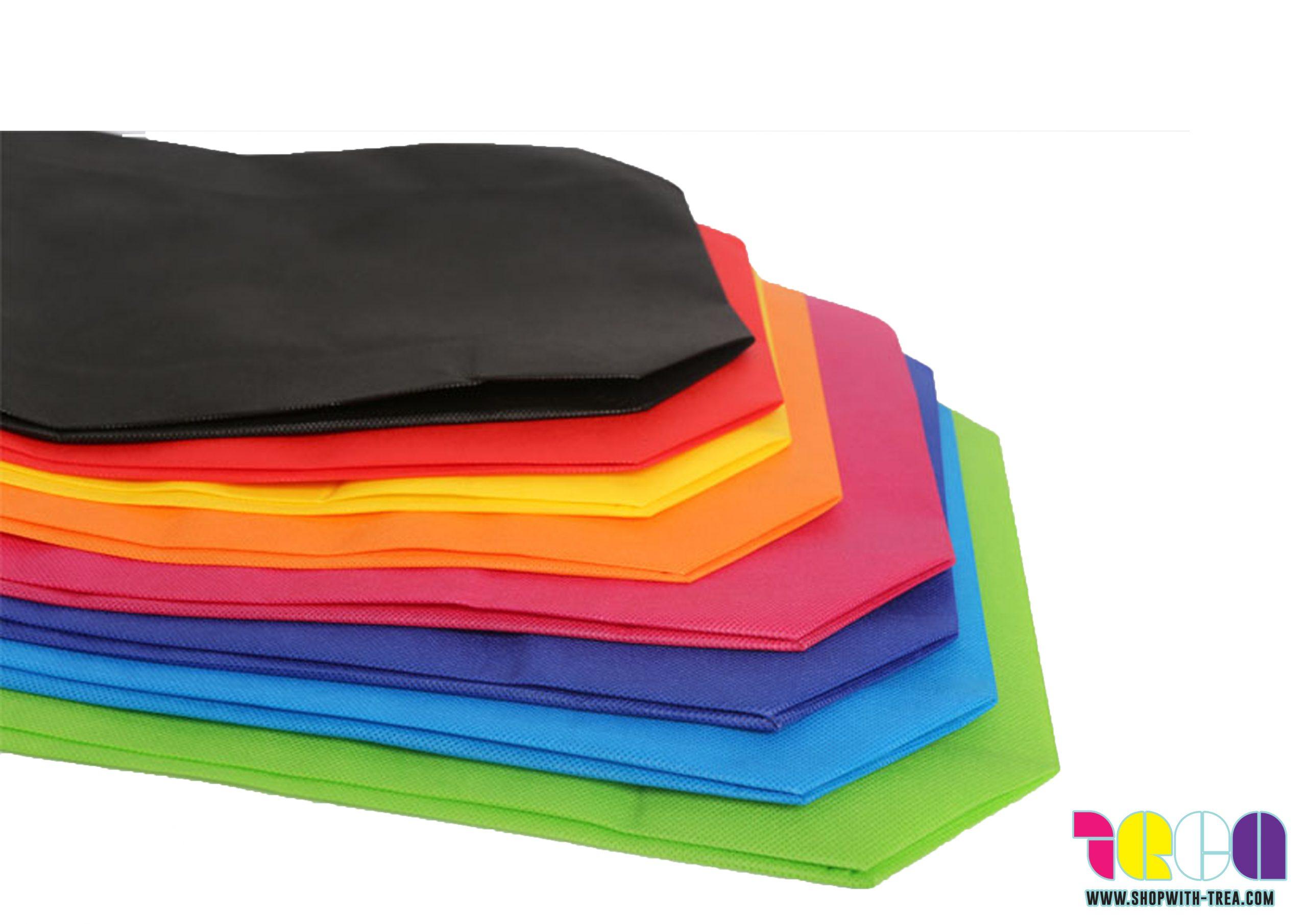 Non woven bag with base colours
