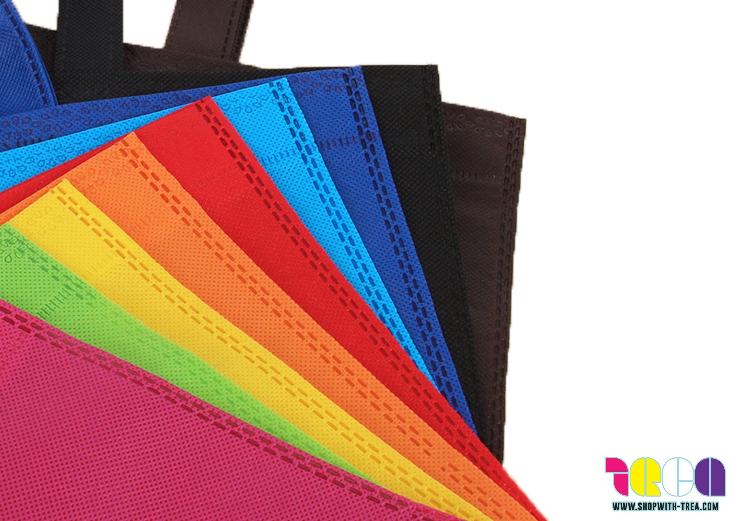 Non woven bag Non expendable base colours