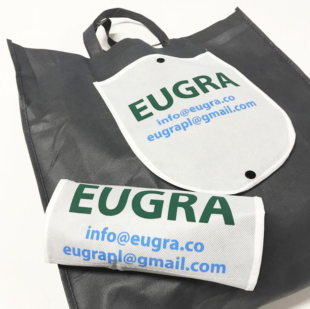 Foldable Black Non woven bag