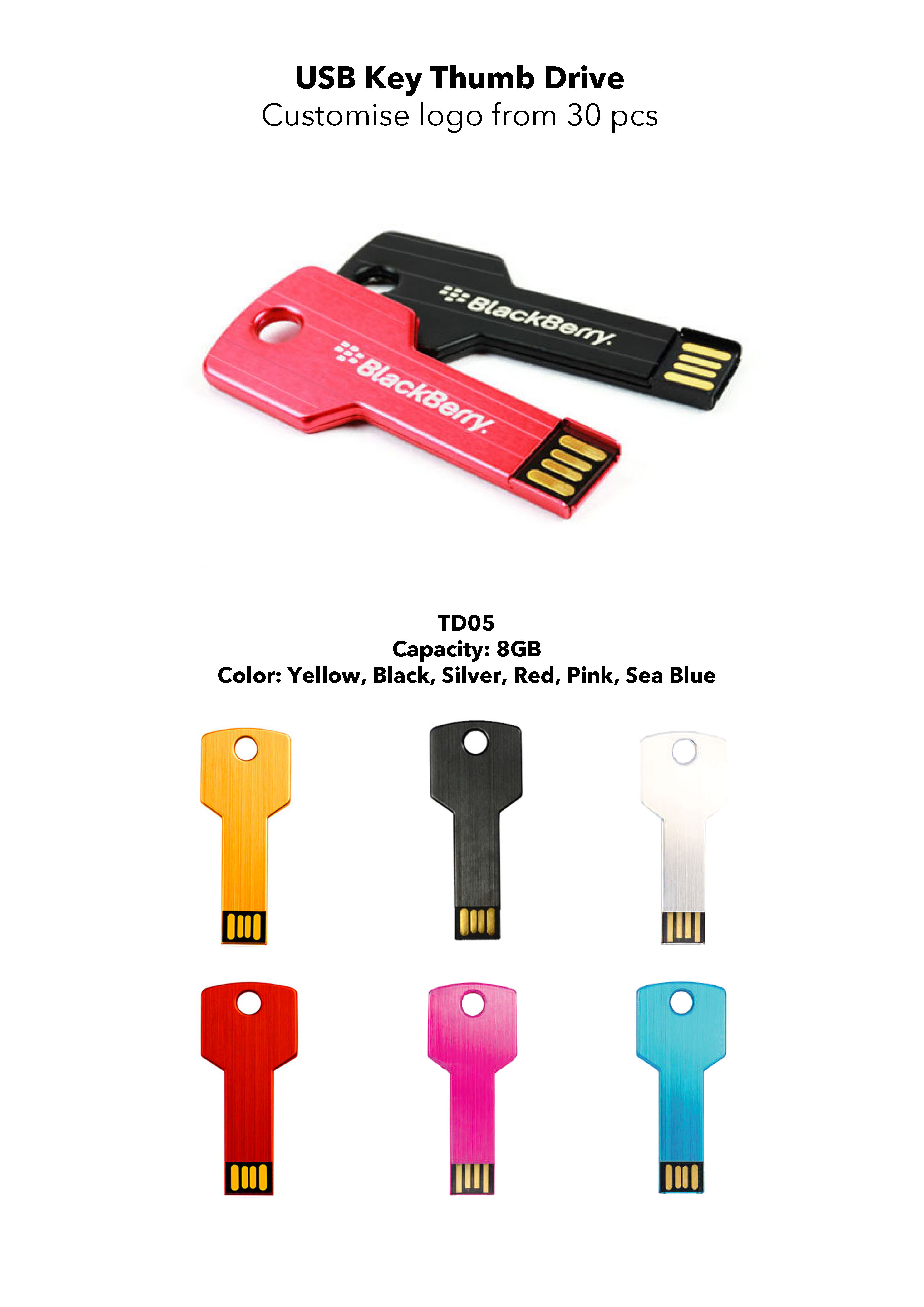Custom Electronic Accessories - Thumbdrive Flash Drive
