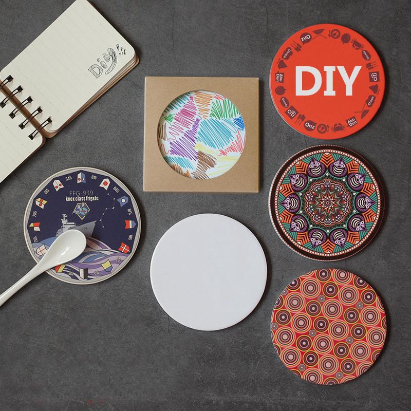 ceramic coaster printing