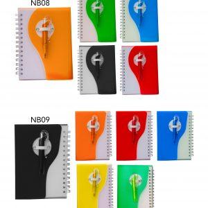 Custom Notebooks with Pen