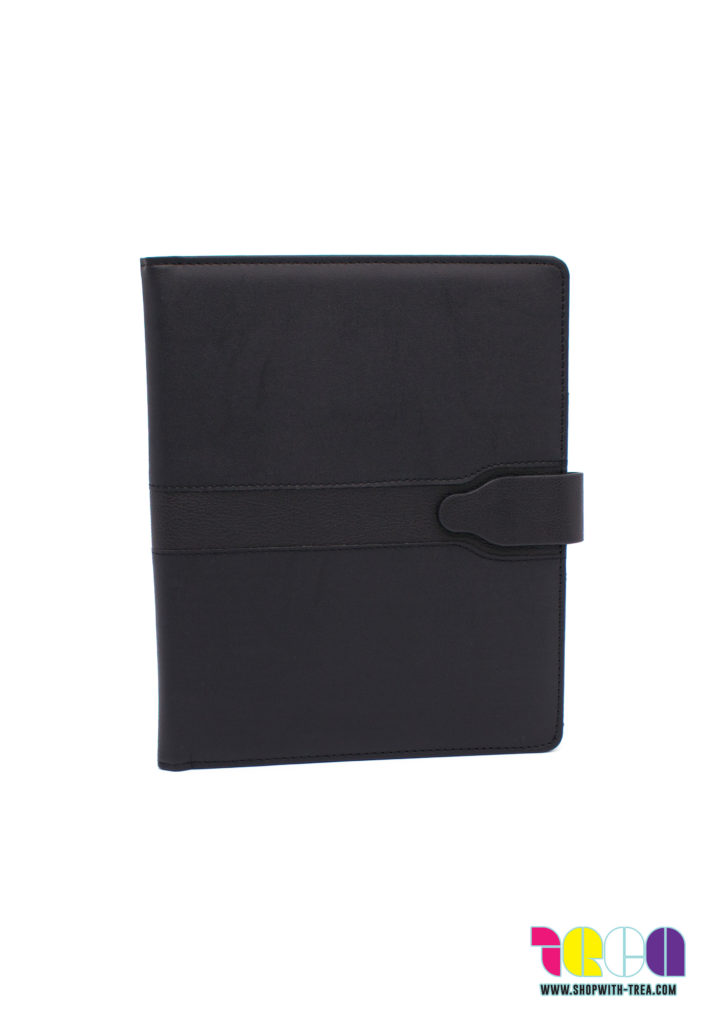 a5 pu notebook cover w/ magnetic clasp