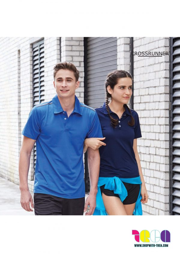 c6e617800 Unisex Custom Polo Tee (Crossrunner 2500)   T Shirt Printing Singapore