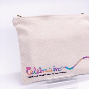 custom canvas zipper pouch
