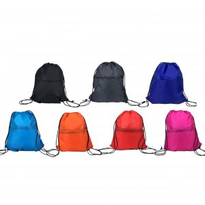 polyester nylon drawstring bag