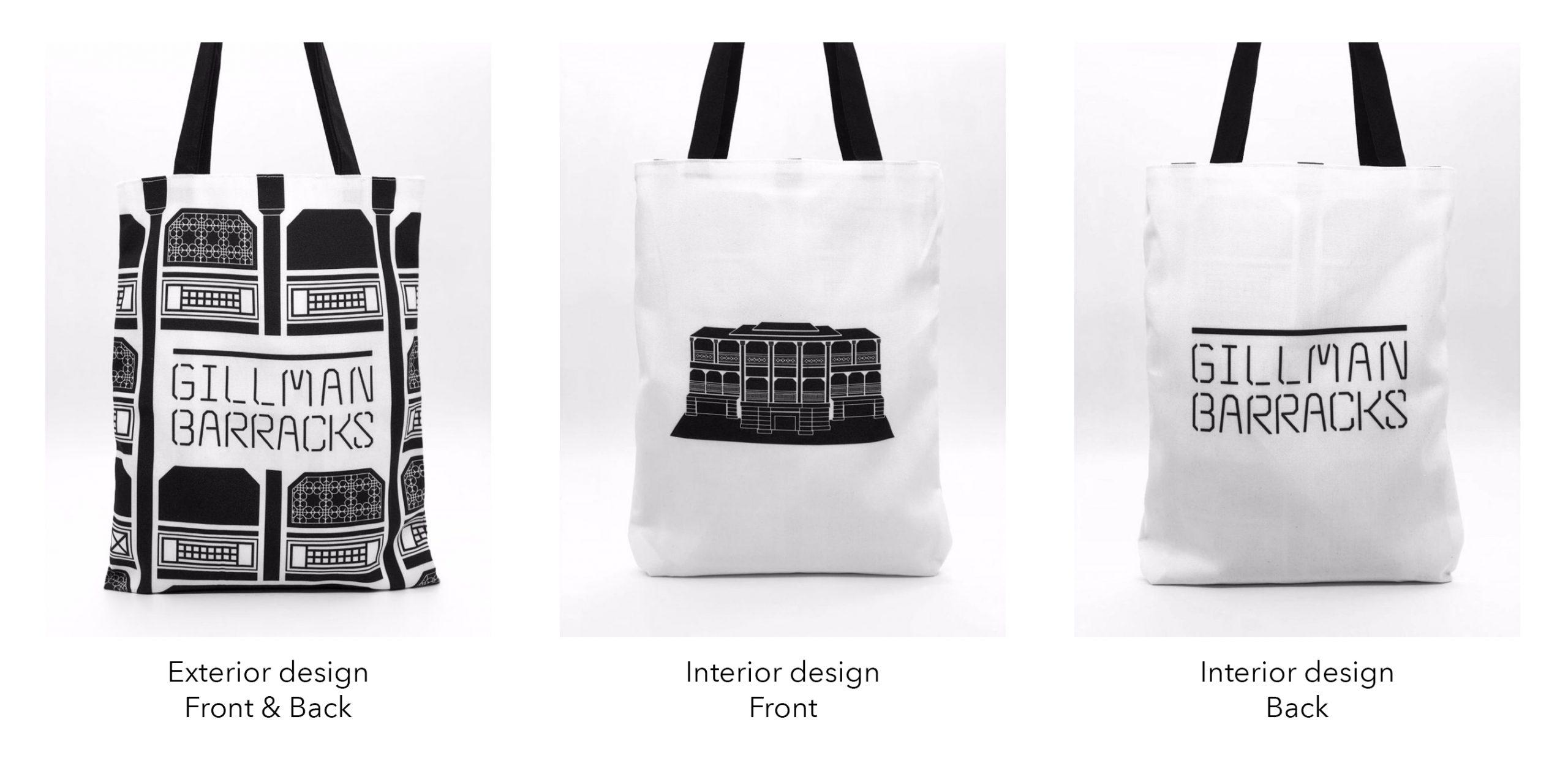 custom reversible bag