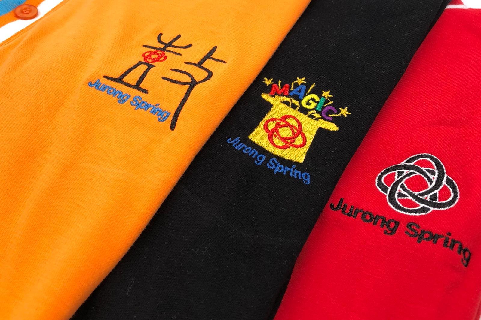 Jurong Spring Custom Printed Polo T Shirt