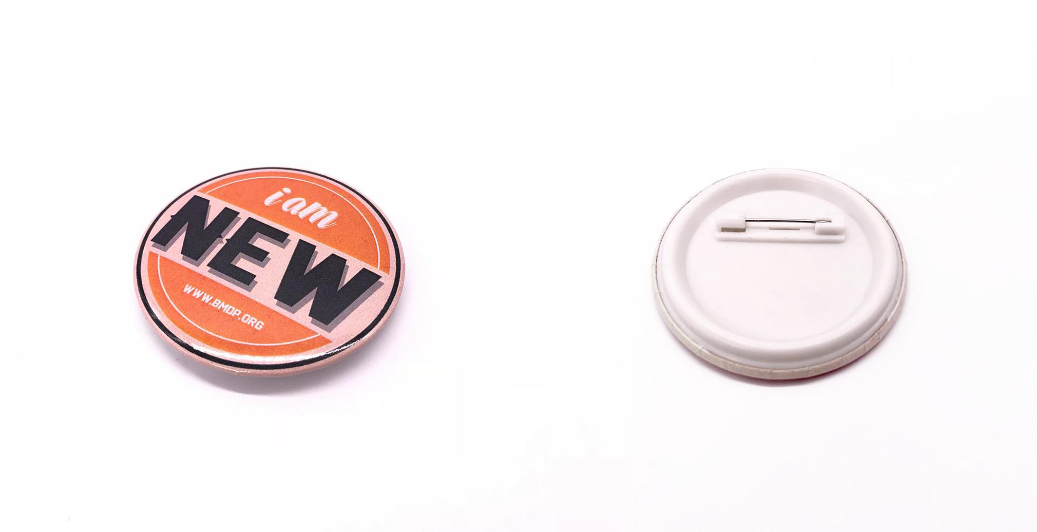 BMDP bagde pin