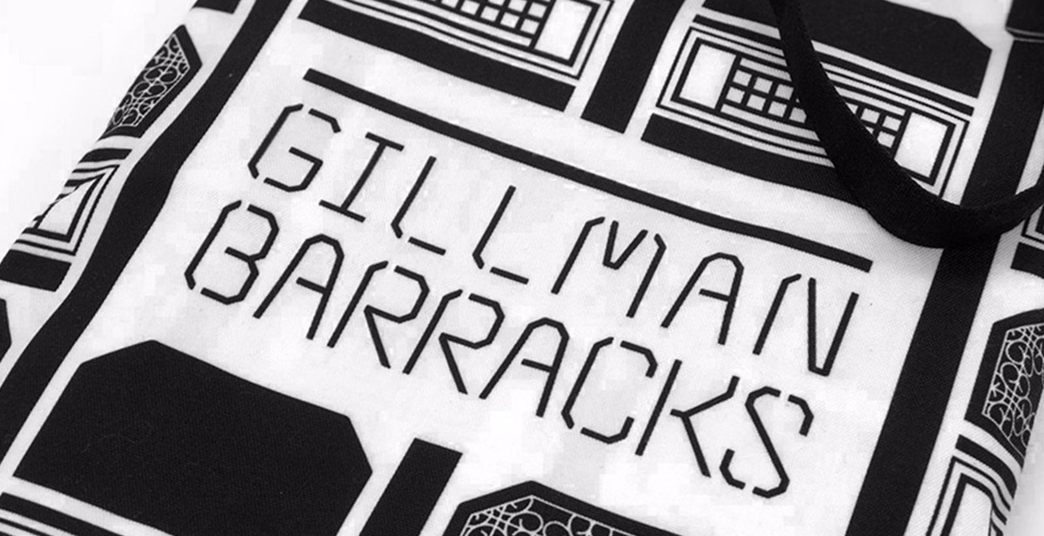gilman barracks tote bag