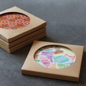 coaster packaging box printing