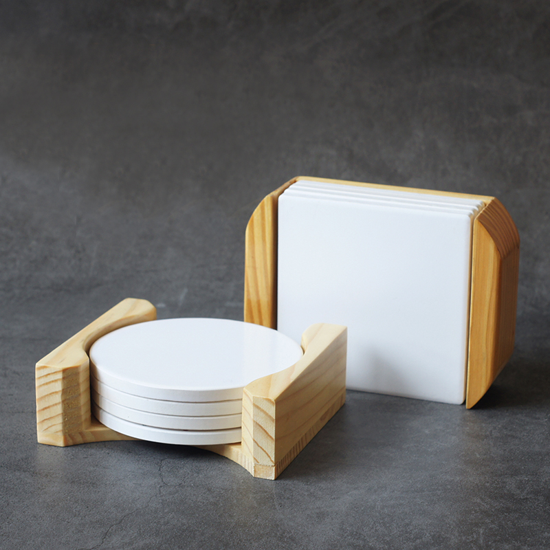 coaster wood stand