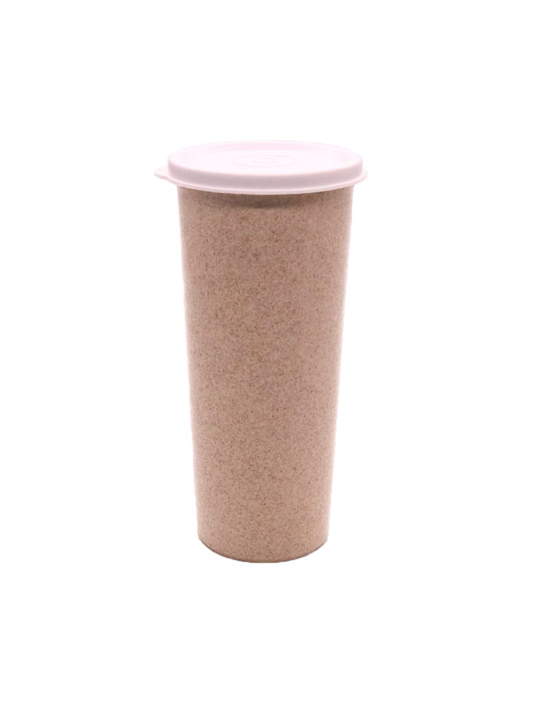 custom wheat straw tumbler
