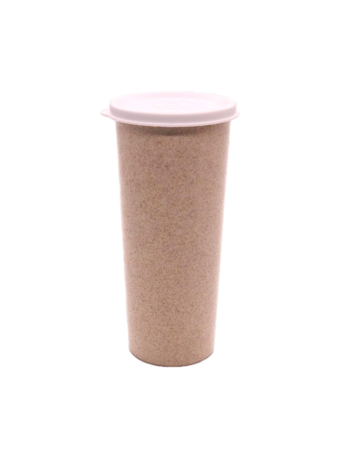 custom wheat straw tumbler
