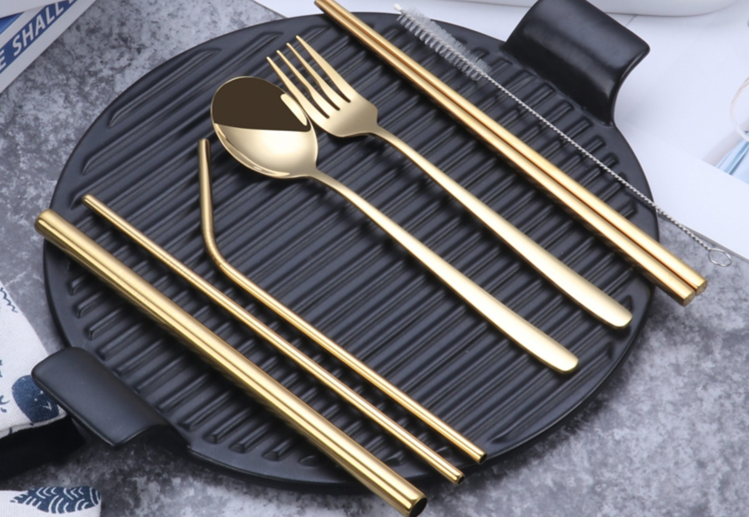 custom stainless steel cutlery set