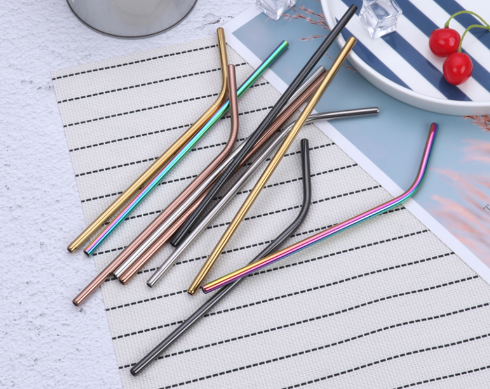 stainless steel straw printing