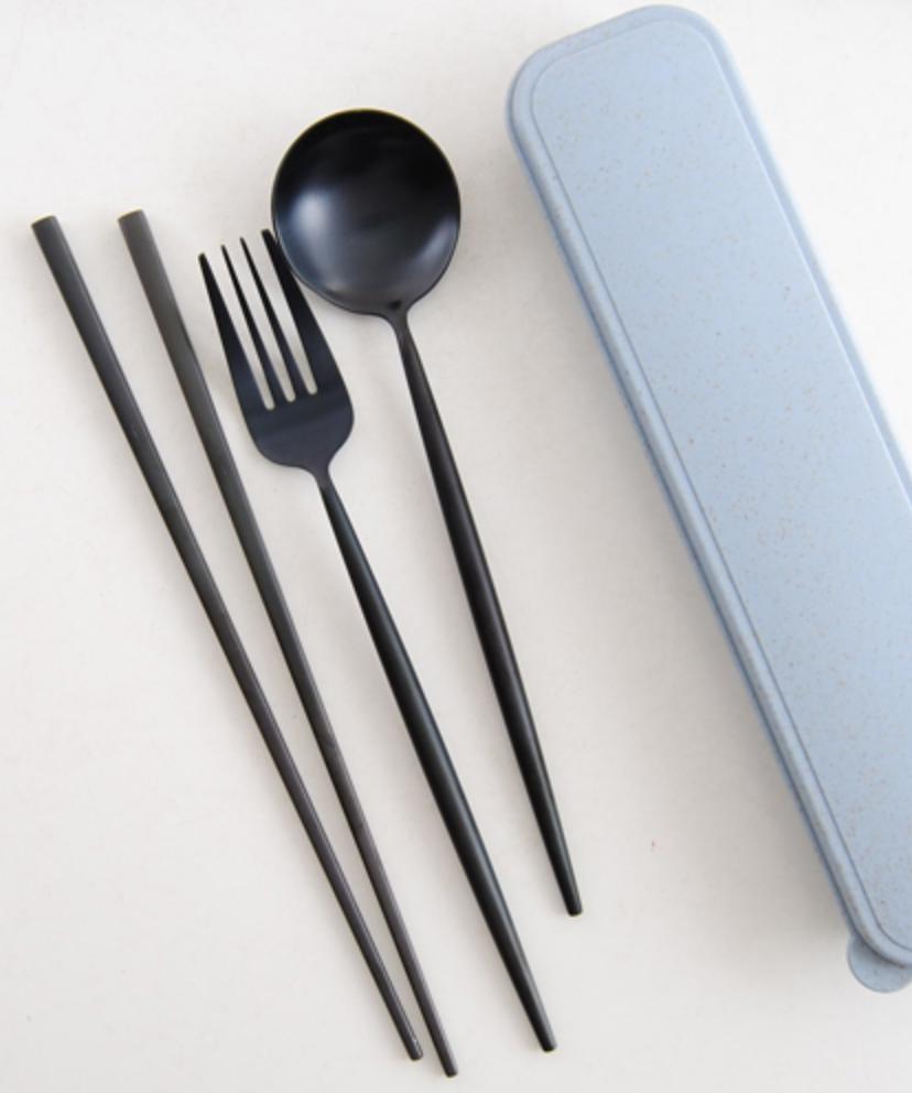stainless steel cutlery set printing