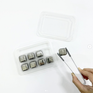 Stainless Steel Ice Cube Printing