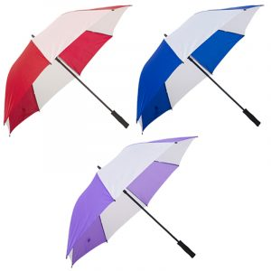 straight umbrellas printing