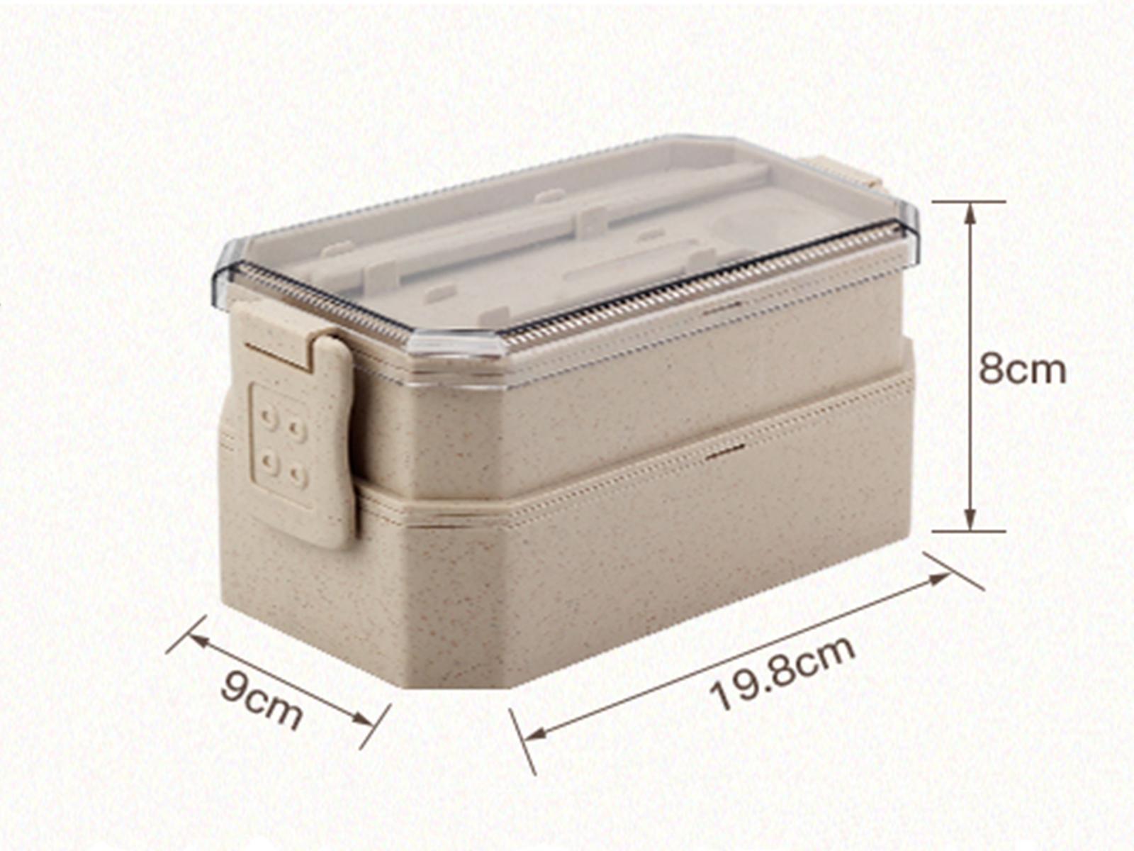 Customwheat fibre lunch box