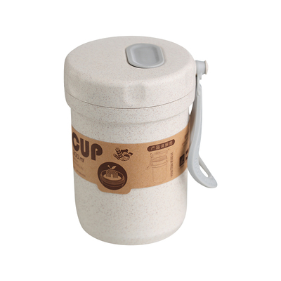 wheat straw soup container printing