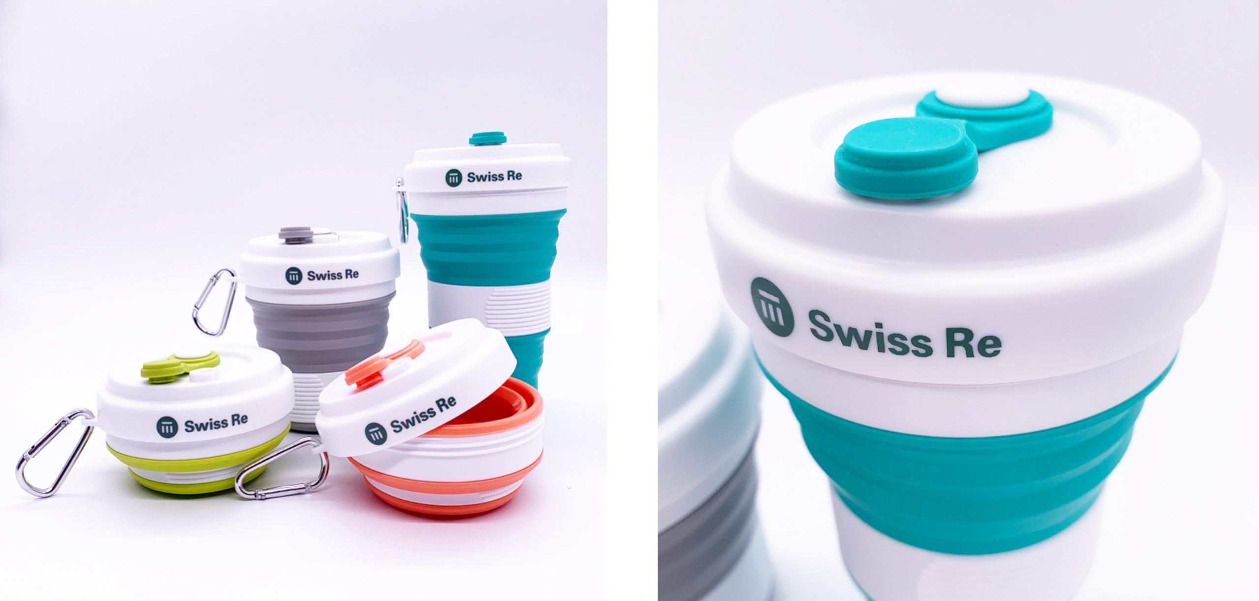 custom silicone collapsible cup