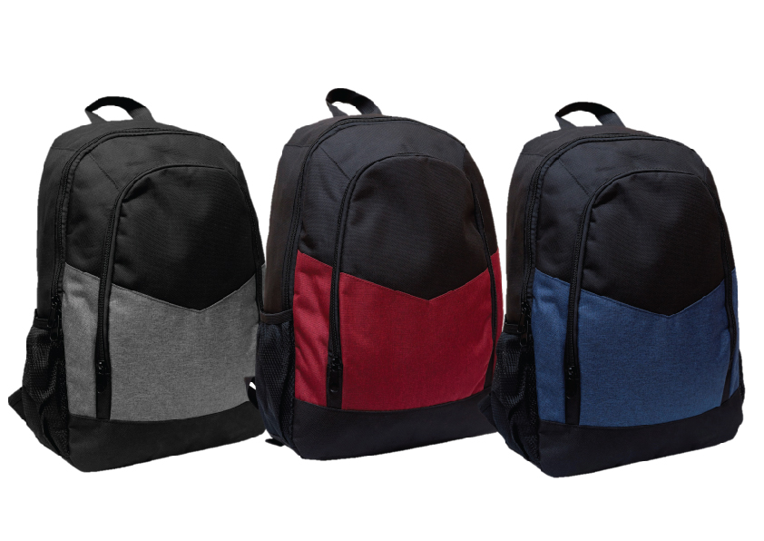 custom print nylon backpack