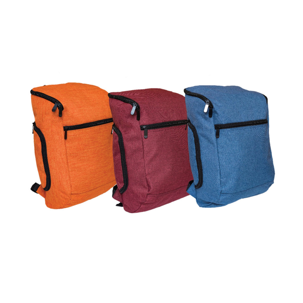 nylon compartment backpack