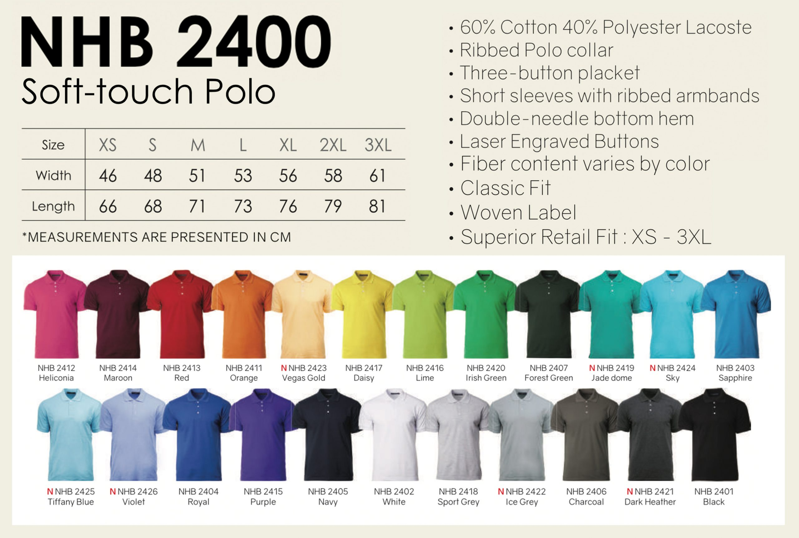 Plain Polo Tee Custom