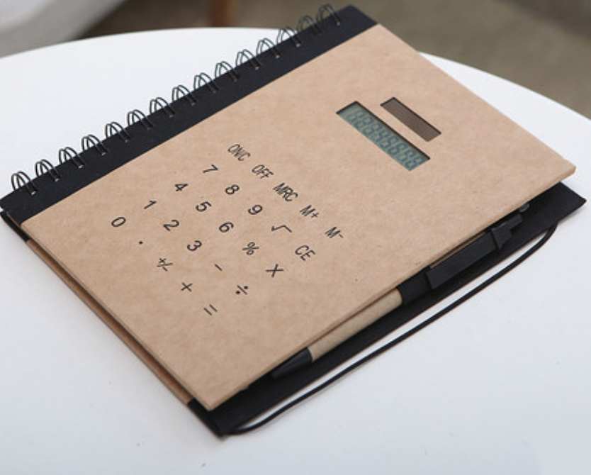 Calculator Notebook Printing