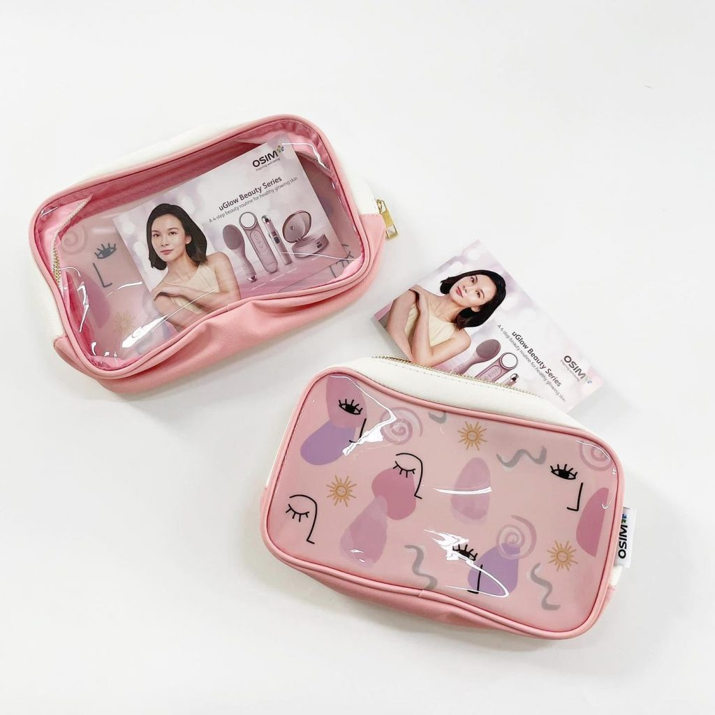 Custom Transparent Cosmetic Pouch