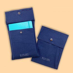 Custom Notebook Button Pouch