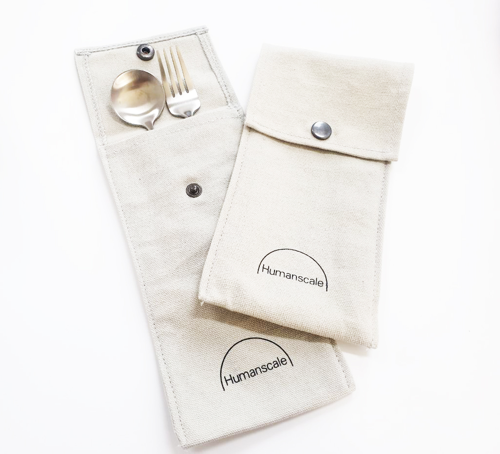 Custom Cutlery Button Pouch