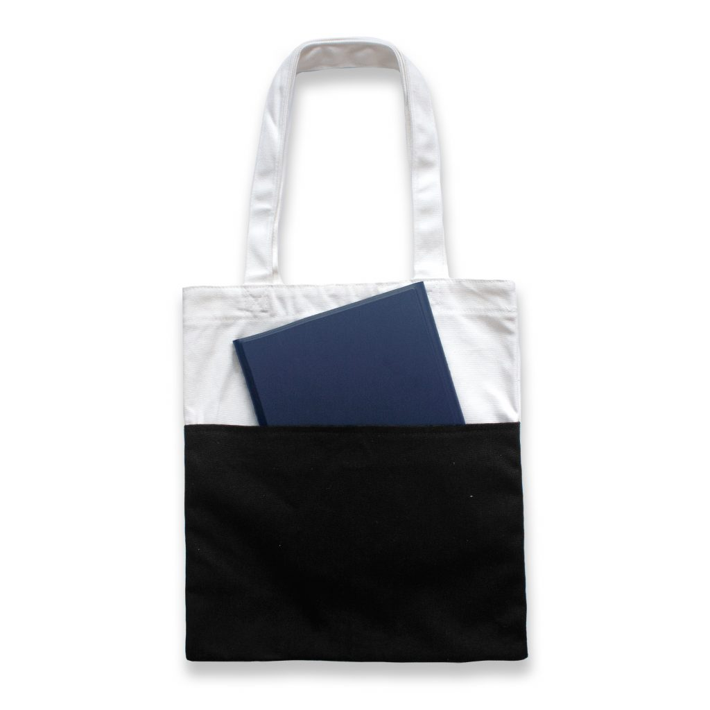 canvas bag with front pocket