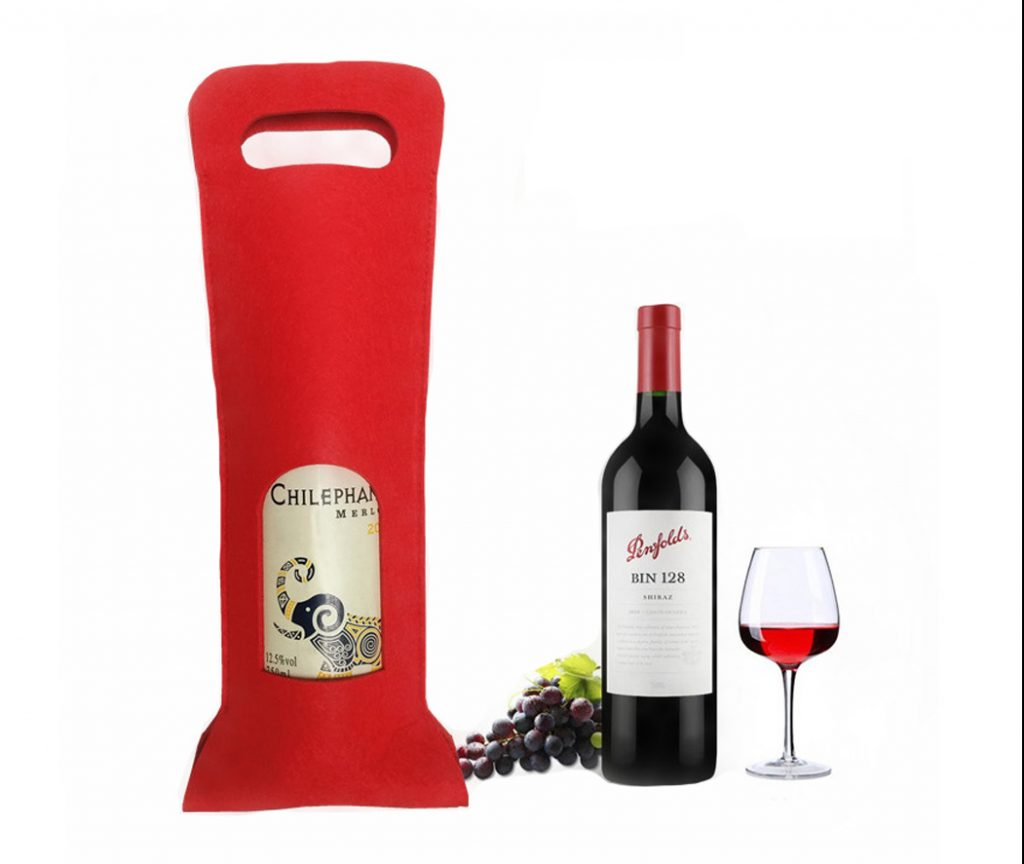 Custom Wine Bottle Carrier