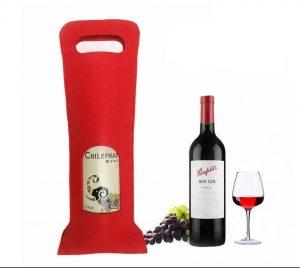 Custom Wine Bottle Carrier