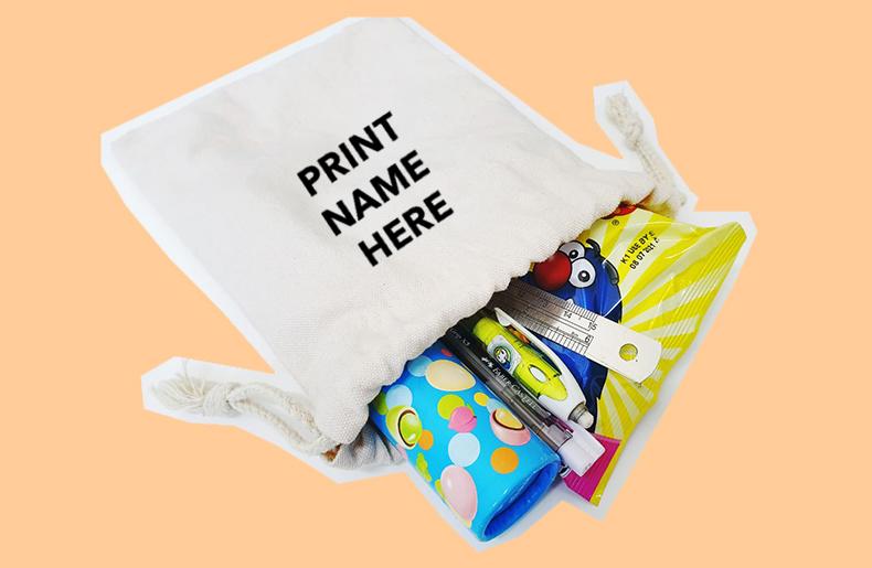 Drawstring Pouch Printing