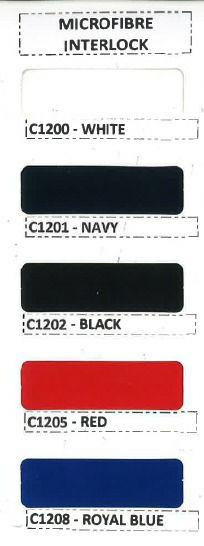 Microfibre Interlock Swatches