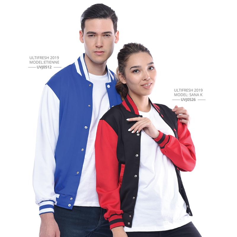 Anti-Odour Varsity Jacket Printing